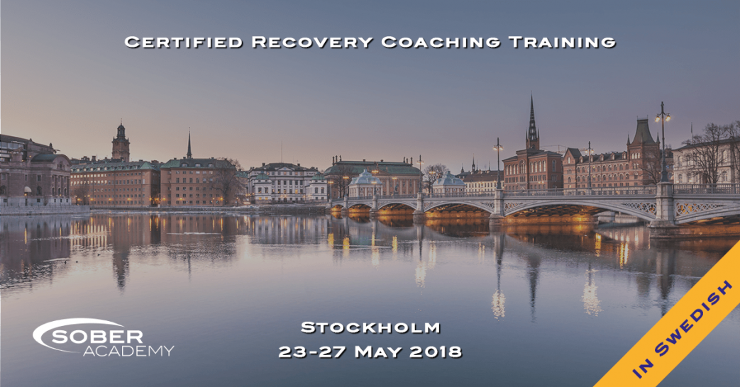 Certified Recovery Coaching Training Stockholm