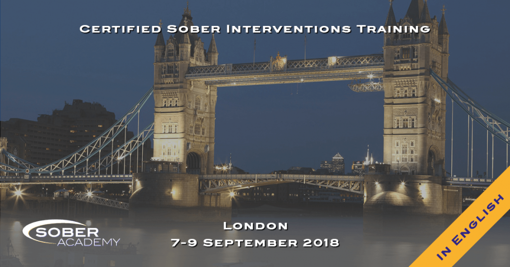 Certified Sober Interventions Training London