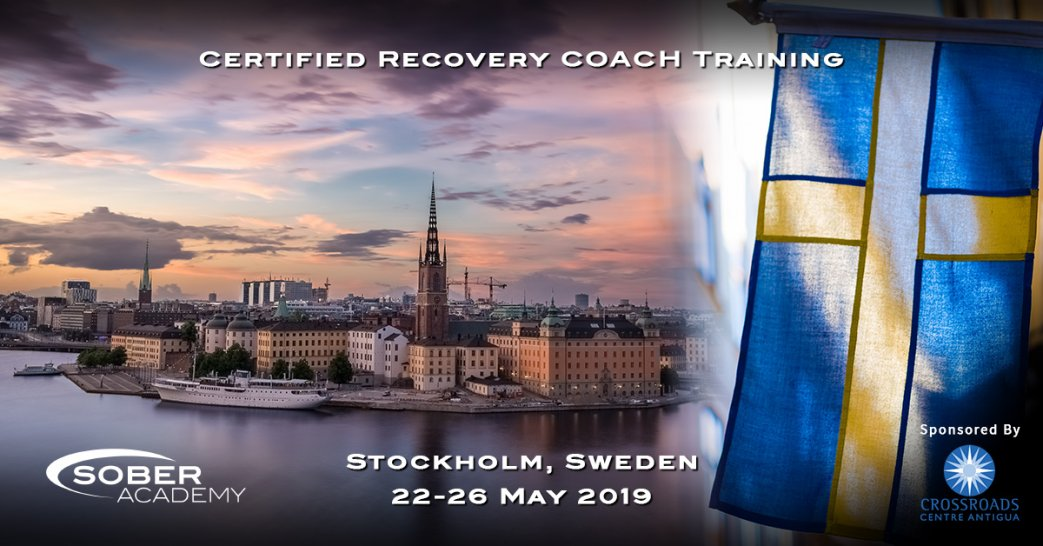 Certified Recovery Coaching Training Stockholm May 2019