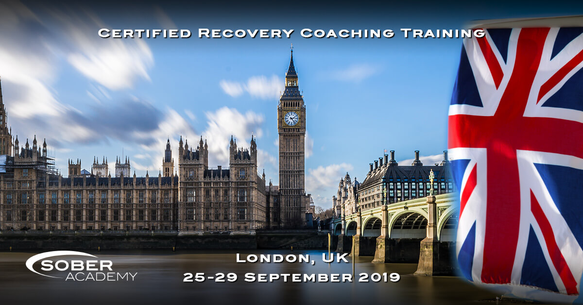 Recovery Coaching London September 2019