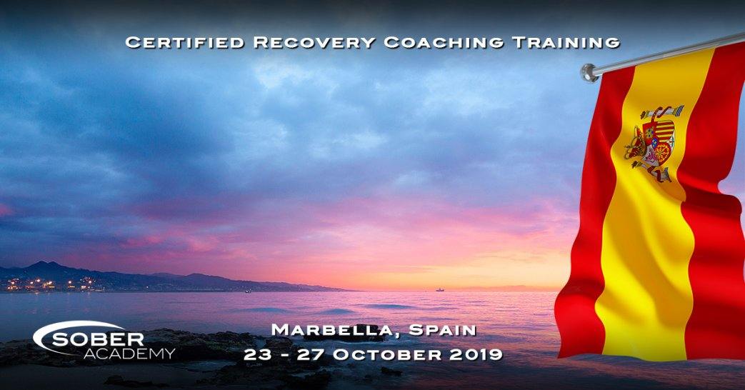 Certified Recovery Coaching Training Marbella October 2019