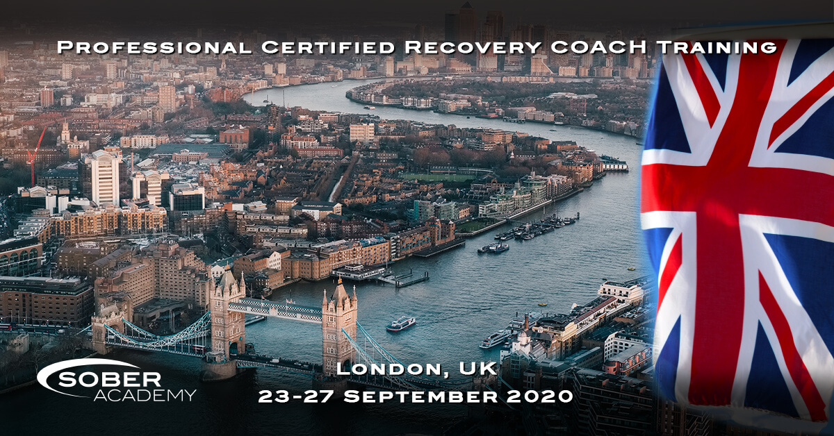 Recovery Coaching London September 2020