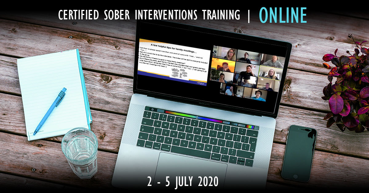 Sober Intervention Training ONLINE